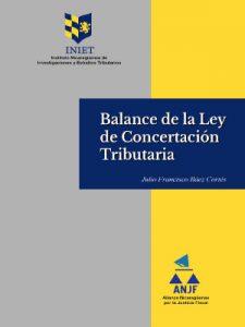 BALANCE DE LA LEY DE CONCERTACIÓN TRIBUTARIA